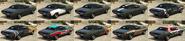Gauntlet Classic GTA Online Cubiertas Atrás