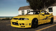 Nissan-skyline-r33-leon rápidos y furiosos