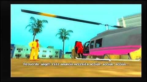 GTA VCS PS2 MISIÓN 32 RODANDO EN COCHE