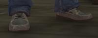 Mocasines grises GTA IV