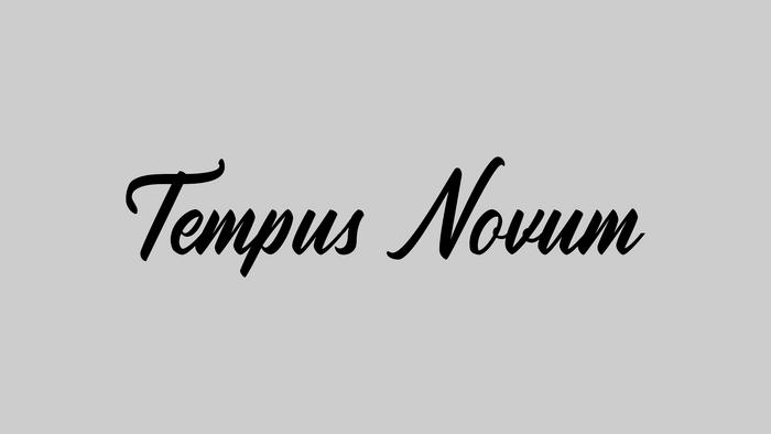 Tempus Novum Banner