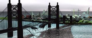 Representacion artistica del callahan bridge beta