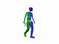 GTAVC The Lab Walking Render 1