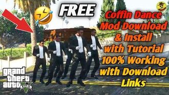 How to Download & Install Funny Coffin Dance MOD for FREE in GTA V (English Hindi) - TricksWala