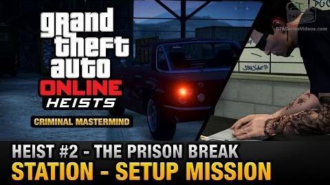 Fuga de prisión - Estación