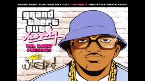 Grand Theft Auto Vice City Soundtrack - Wildstyle Pirate Radio - The Message
