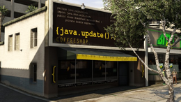 Java Coffeeshop