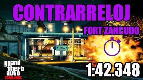 CONTRARRELOJ - FORT ZANCUDO (GTA ONLINE) PS4