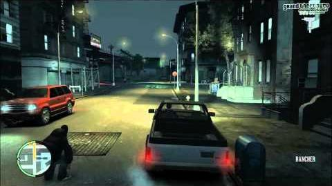 GTA IV Mission Street Sweeper