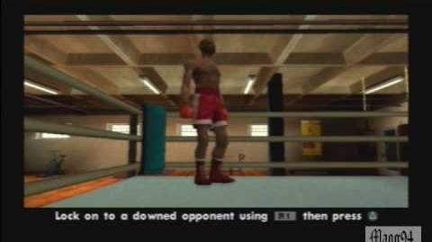GTA San Andreas learning new moves - box - Ganton Gym