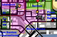 Willowfield mapa