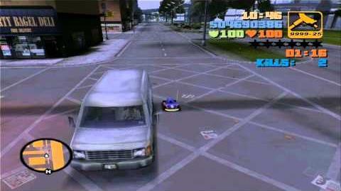 GTA 3 Toyz rampage - Triads
