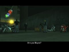 Toni encontrandose con Wayne