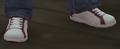 Zapatillas tenis blancas rojas GTA IV.png