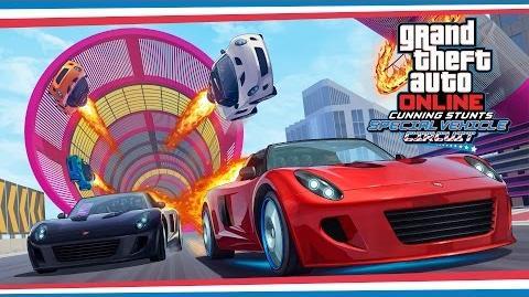 GTA Online Cunning Stunts Circuito especial - Tráiler