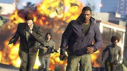 Golpes de Grand Theft Auto Online - Captura de pantalla promocional