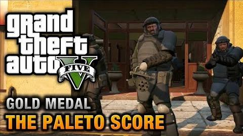 GTA 5 - Mission 52 - The Paleto Score 100% Gold Medal Walkthrough