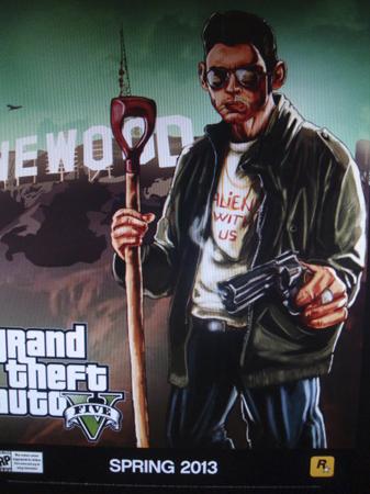 Nuevo Artwork de Grand Theft Auto V