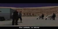 CJ pegandole a Zero