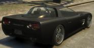 Coquette detrás GTA IV
