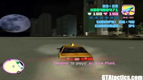 GTA Vice City - Taxi Driver (Taxista)