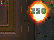 La bomba de vehículo GTA 2