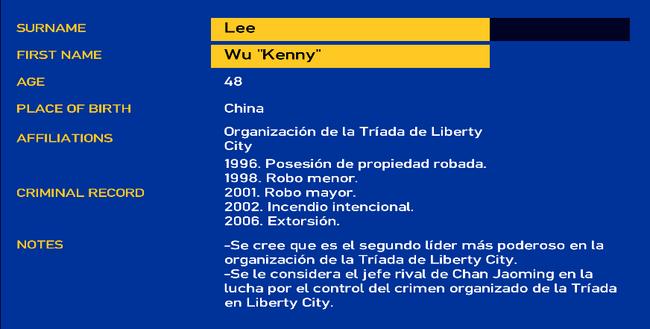 Wu Lee LCPD
