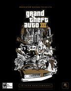 Póster GTA III decimo aniversario EU