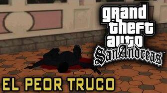 El peor truco de GTA San Andreas (mision Madd Dogg)