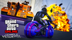 GTA Online - Modo Adversario Vendetta al volante