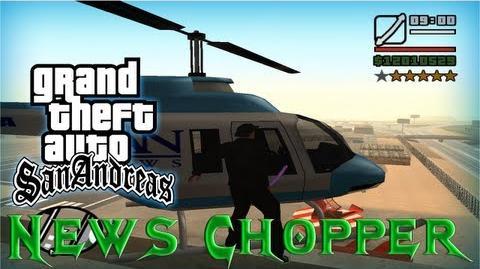 GTA San Andreas - Como conseguir el Helicoptero News Chopper (Helicóptero de Noticias)