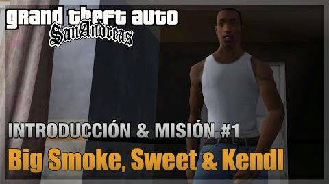 GTA San Andreas - Intro y Misión 1 - Big Smoke, Sweet & Kendl (Español - 1080p 60fps)-2