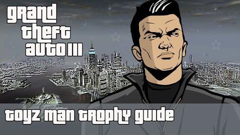 Grand theft Auto III (PS4) - Toyz Man Trophy Guide