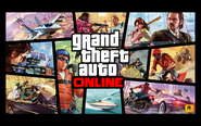Artwork Grand Theft Auto Online