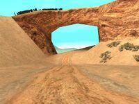 Camino a la mina desvío