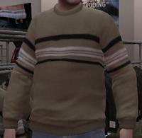 Jersey lana a rayas GTA IV