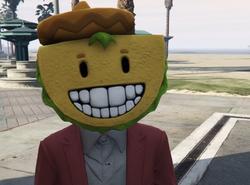 Paco el Taco máscara