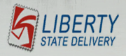 Liberty State Delivery Logo