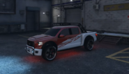 Caracara 4x4 modificada GTA Online