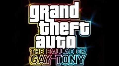 Grand Theft Auto IV The Ballad Of Gay Tony I keep on walking