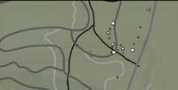 Mapa de supervivencia planta del aserradero