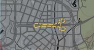 Trayecto carrera Autopista