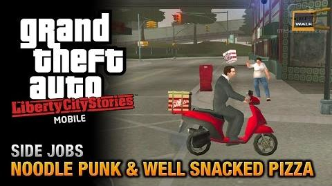 GTA Liberty City Stories - Noodle Punk y Well Snacked Pizza