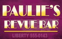 Paulie's Revue Bar logo