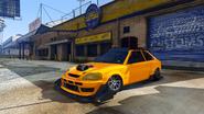 Blista Kanjo tuneado GTA V