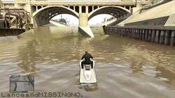 Grand Theft Auto V - Cypress Flats River Glitch