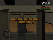 Micro subfusil ronda 1