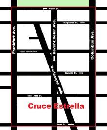 Mapa Calles Cruce Estrella