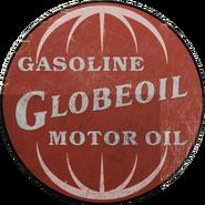 Logo viejo de Globe Oil