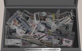 VCBI - Armas confiscadas